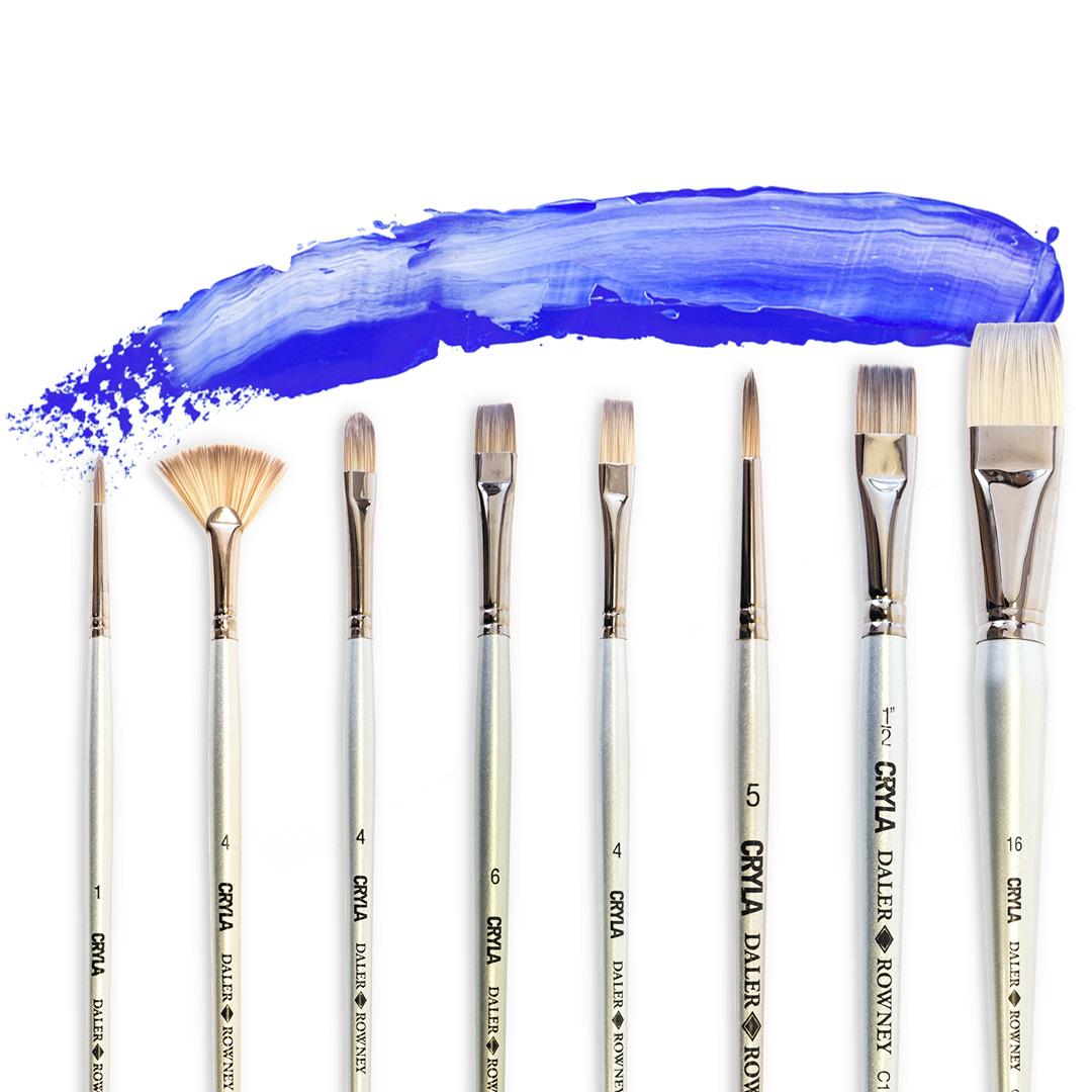 Paint Brushes Palette Knives Art Supplies Daler Rowney